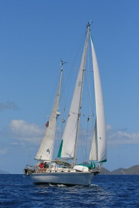Southern Cross in the BVI 21 April 2008